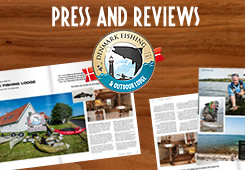 the best seatrout fishing in fyn near our lodge press and reviews about us!