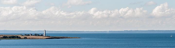 Helnaes beautiful fyn surroundings lighthouse